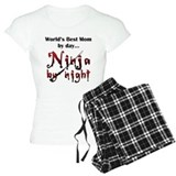 Ninja mom T-Shirt / Pajams Pants