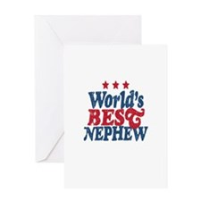 Worlds Best Nephew Greeting Card
