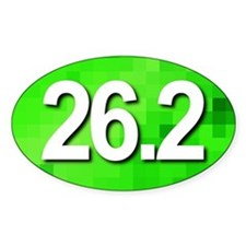 Super Unique 26.2 (green version) Decal