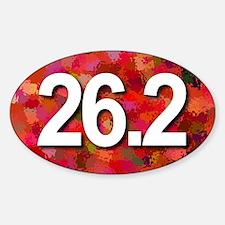 Super Unique 26.2 (red version) Decal