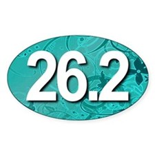 Super Unique 26.2 (teal version) Decal