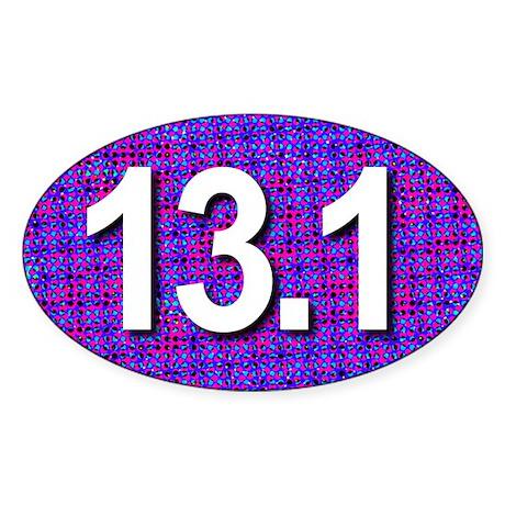 Super Unique 13.1 (pop art purple) Sticker