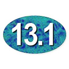 Super Unique 13.1 (pop art blue) Decal