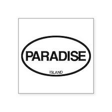 Paradise Island Sticker