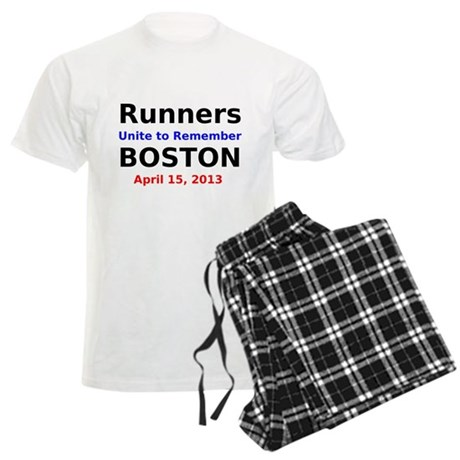 Runners Unite to Remember Boston Pajamas