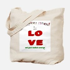 """All You Need Is Love"" Tote Bag"