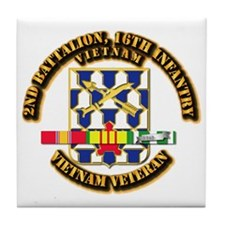 Army - 2nd Battalion, 16th Infantry w SVC Ribbons