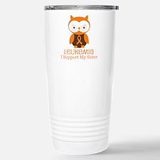 Sister Leukemia Support Travel Mug
