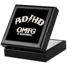 AD/HD OMFG Keepsake Box
