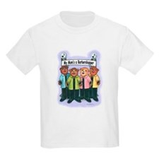 Mom's a Barbershopper Kids T-Shirt