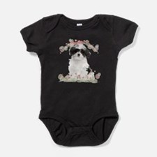 flowers.png Baby Bodysuit