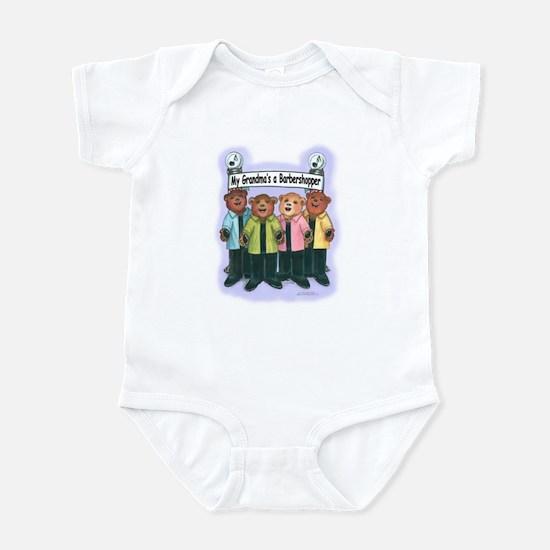 Grandma's a Barbershopper Infant Bodysuit