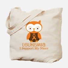 Niece Leukemia Support Tote Bag