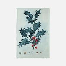 Mistletoe Rectangle Magnet