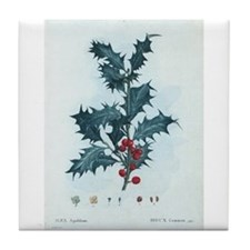 Mistletoe Tile Coaster