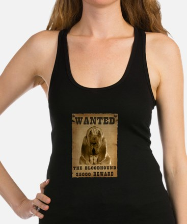 19-Wanted _V2.png Racerback Tank Top