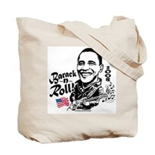 First Barack And Roll Tote Bag
