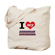 I love my Armenian Boyfriend Tote Bag