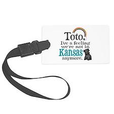 Toto Kansas Quote Luggage Tag