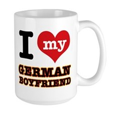 I love my German Boyfriend Mug