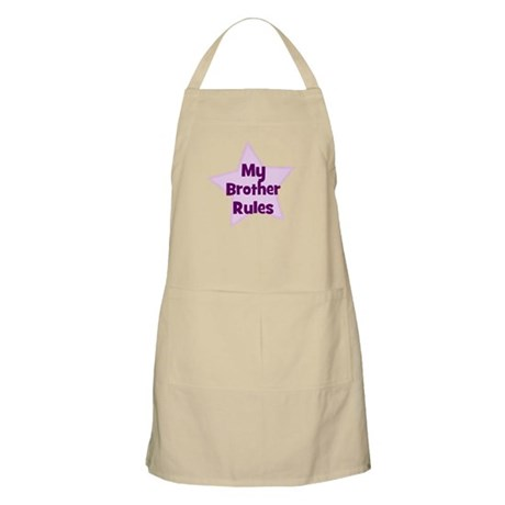 My Brother Rules BBQ Apron