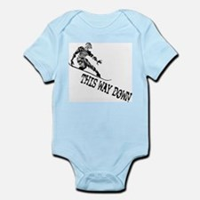 This Way Down Infant Bodysuit