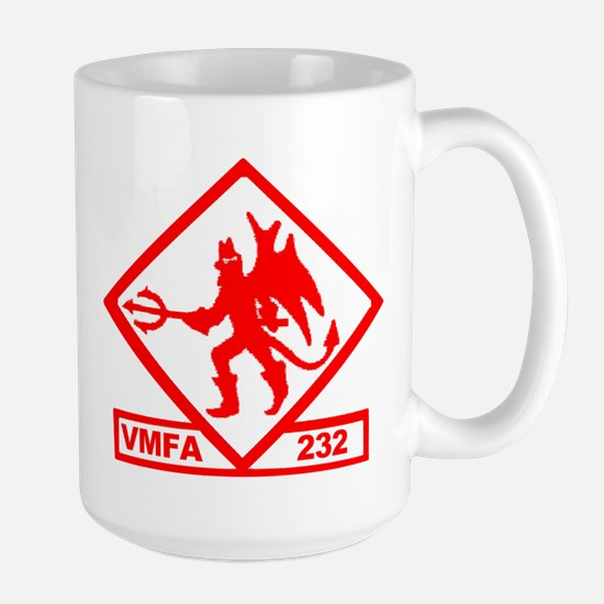 VMFA 232 Red Devils Large Mug