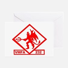 VMFA 232 Red Devils Greeting Cards (Pk of 10)