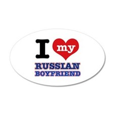 I love my Russian Boyfriend Wall Decal