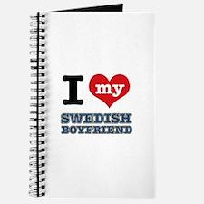 I love my Swedish Boyfriend Journal
