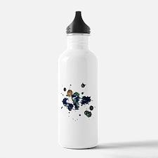 Earth Splatter Water Bottle