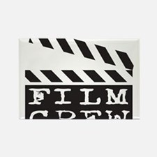 Film Crew Rectangle Magnet