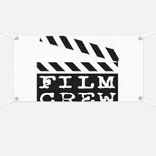 Film Crew Banner