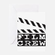 Film Crew Greeting Card