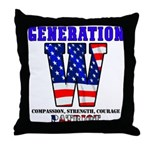 Generation W Throw Pillow
