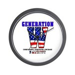 Generation W Wall Clock