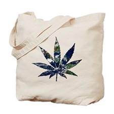 Pot Leaf - Earth Tote Bag
