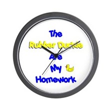 Homework Excuse Wall Clock