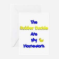 Homework Excuse Greeting Cards (Pk of 10)
