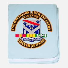 Army - 4th Battalion, 9th Infantry w SVC Ribbons b