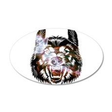 Cosmic Wolf Wall Decal