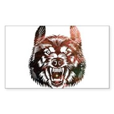Cosmic Wolf Decal