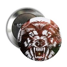 "Cosmic Wolf 2.25"" Button"