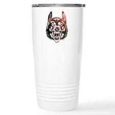 Cosmic Wolf Travel Mug