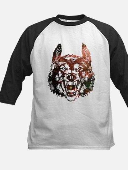 Cosmic Wolf Baseball Jersey