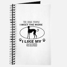 Saluki dog breed designs Journal