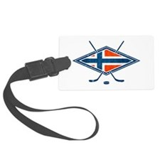 Norsk Ishockey Flag Luggage Tag