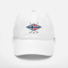 Norsk Ishockey Flag Baseball Baseball Baseball Cap