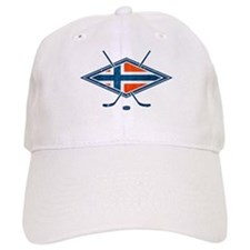 Norsk Ishockey Flag Baseball Baseball Cap