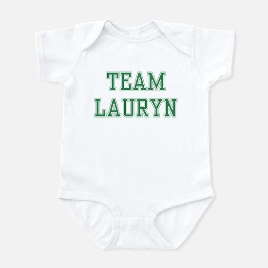 TEAM LAURYN  Infant Bodysuit